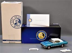 Franklin Mint 1968 Chevrolet Chevelle SS396 Convertible