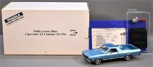 Danbury Mint 1968 Chevrolet El Camino SS396 Grotto Blue