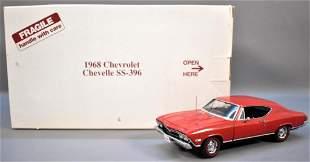 Danbury Mint 1968 Chevrolet Chevelle Hardtop SS396 Red
