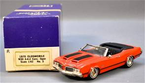 1970 Oldsmobile Cutlass 442 W30 convertible by TFC in