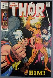 Marvel Silver Age Thor 165 1st full appearance of HIM