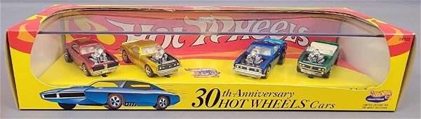 Hot Wheels 100% 19322 30th Ann Hot Wheels Cars set MIB