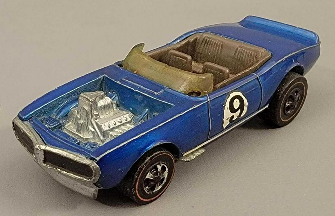Redline Hot Wheels Spoilers Blue Light My Firebird