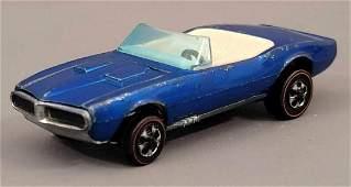 Redline Hot Wheels HK Blue Custom Firebird white