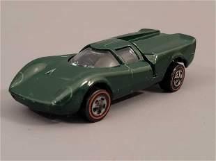 Redline Hot Wheels US enamel Green Lola GT70 Loose