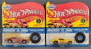 Group of 2 Hot Wheels Vintage Series I Funny Cars