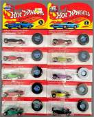 Group of 10 Hot Wheels vintage Series and 25th ann