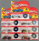Group of 7 Hot Wheels vintage Series and 25th ann