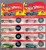 Group of 8 Hot Wheels vintage Series and 25th ann