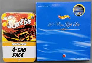 2003 Hot Wheels 20 car gift set plus Since '68 Muscle