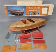 Dumas Christ Craft 1940 Barrell-back  mahogany runabout