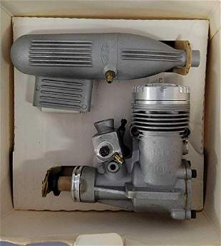 K&B .61 R/C gas model airplane engine with KMB