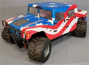 Large MCD 1/5 scale remote control Monster H1 Hummer