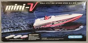 Pro Boat Mini-V Remote Control Boat
