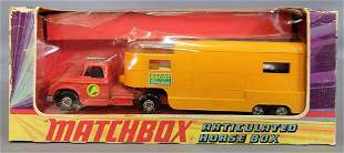 Matchbox Lesney King Size K-18 Articulated Horse Box in