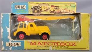 Matchbox Lesney King Size K-14 Jumbo Crane in original