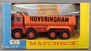 Matchbox Lesney King Size K-1 Foden Timber Truck in