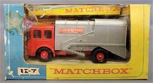 Matchbox Lesney King Size K-7 SD Refuse Truck in