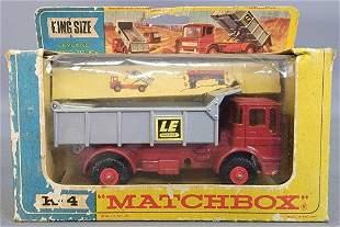 Matchbox Lesney King Size K-4 Leyland Tipper Truck in