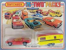 "Matchbox Lesney 75 ""Two"" Packs TP-4 Holiday Set on"