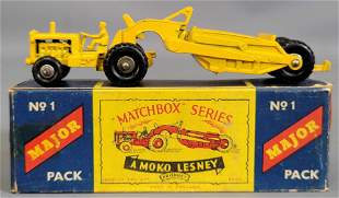 Lesney Matchbox Moko No 1 Major Pack Caterpillar
