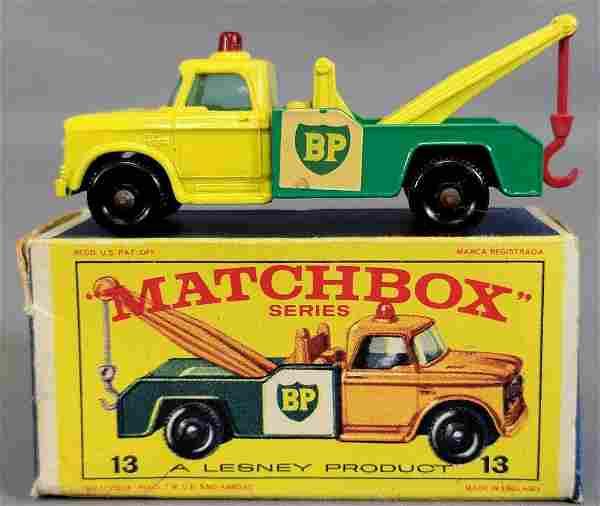 Lesney Matchbox #13 Dodge Wreck Truck in original box