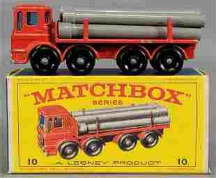 Lesney Matchbox #10 Pipe Truck in original box