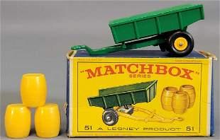 Lesney Matchbox New Model #51 Trailer in original box