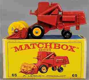 Lesney Matchbox #65 Claas Combine Harvester in original