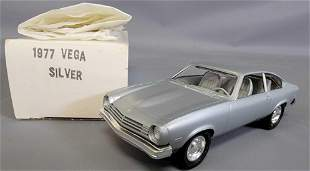 1977 Chevrolet Vega Metallic Silver Promo Car By MPC