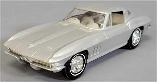 1966 Chevrolet Corvette Coupe Metallic Silver with a