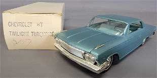 1962 Chevrolet Impala Hardtop in Twilight Turquoise