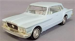 Rare 1962 Plymouth Valiant torsion bar promo car