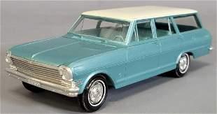 1963 Chevrolet Nova II wagon coaster promo car