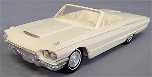 1964 Ford Thunderbird convertible coaster promo car