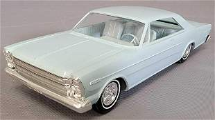 1966 Ford Galaxie 500 coupe friction promo car