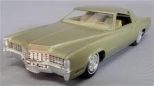 1968 Cadillac Eldorado coupe friction promo car