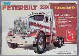 Unbuilt AMT Peterbilt 359 Tractor 1:25 scale model kit