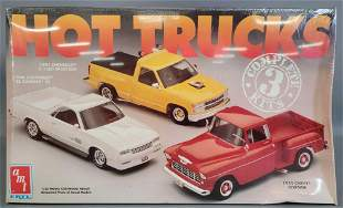Factory sealed AMT ERTL Hot Trucks 1:25 scale model kit