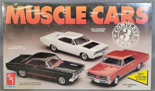 Factory sealed AMT ERTL Muscle Cars 1:25 scale model