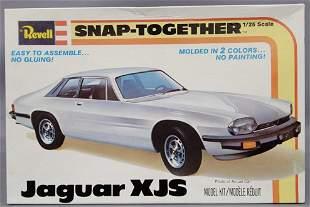 Revell Jaguar XJS 1:25 scale Snap together model kit