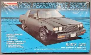 Monogram Buick GNX 1:24 scale model kit 2784 Mint