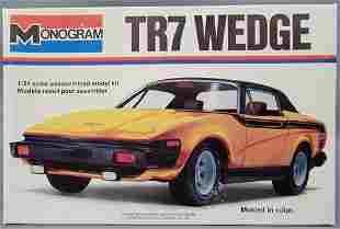 Monogram Triumph TR7 Wedge 1:24 scale model kit 2105