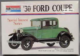 Factory Sealed Monogram '30 Ford Coupe 1:24 scale model