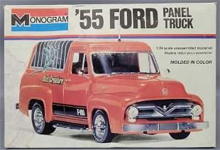 Monogram'55 Ford Panel Truck 1:24 scale model kit 2226