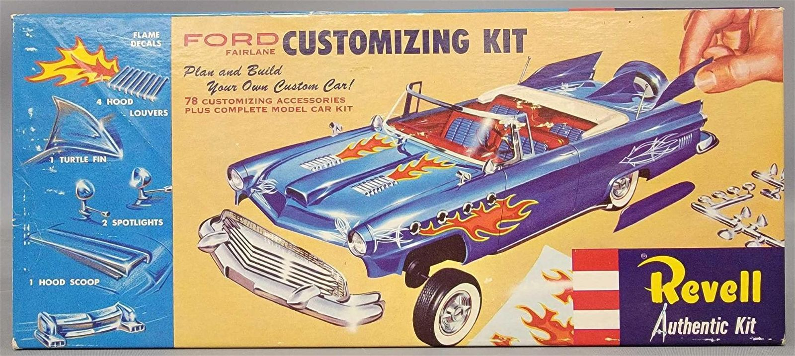 Revell Ford Fairlane Customizing kit 1:25 scale model