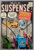 Atlas Tales of Suspense 2 1959 Steve Ditko cover VG-