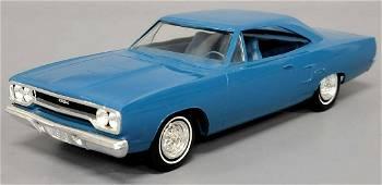 1970 blue Jo-Han Plymouth GTX 2 door hardtop dealer