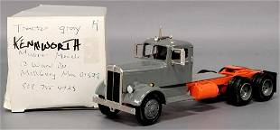 Master Models Kenworth tractor gray die cast semi