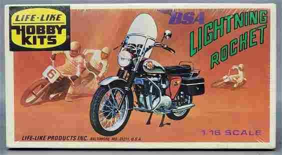 Factory sealed Life-Like BSA Lightning Rocket 1/16